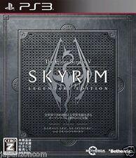 Used PS3 The Elder Scrolls V: Skyrim SONY PLAYSTATION 3 JAPAN JAPANESE IMPORT