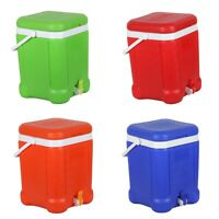 Insulated Water Dispenser 20L. Beverage Ice Cooler Box Thermos. Camping, Caravan