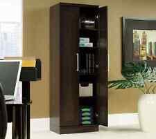 Tall Kitchen Cabinet Storage Food Pantry Organizer Wood Shelf Cupboard Bathroom