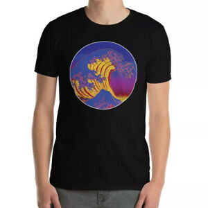 Surf T-Shirts Japan Great Wave Print Vintage Retro Surfing T-Shirt Cool Gift