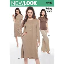 Nuevo diseño patrón de costura pierde de vestido de la tapa plumero Pantalones Tamaño 10-22 6482