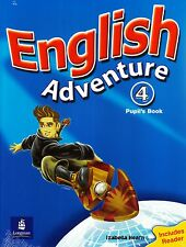 Longman ENGLISH ADVENTURE 4 Pupil's Book w Reader I Izabella Hearn @NEW & SEALED