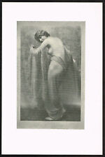 1910's Vintage Nude Dancer Arnold Genthe Pictorialist Dance Photo Print i