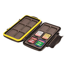 Ares Photo ® cartes mémoire déplier/Memory Card Case/Sac pour 12 cartes SD