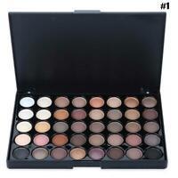 Kosmetik Matte Lidschatten Creme Make-up Palette Sparkling Farbe Set 40 D2J4