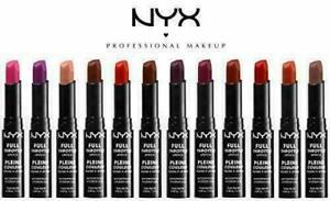 NYX Full Throttle Lipstick Waterproof - FTLS - Choose Your Shade - New Sealed