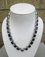 STERLING SILVER 3 piece set.  Necklace-Bracelet-Earrings.  Kiehnle Studios.