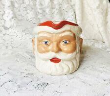 More details for mid 20th century birds custard santa / father christmas jug