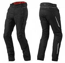 PANTALONI PANTS MOTO REV'IT REVIT VAPOR NERO IMPERMEABILI TG S