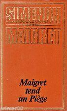 Georges SIMENON // MAIGRET tend un piège // Policier // Enquête