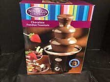 Nostalgia Mini-Chocolate Fountain - Black
