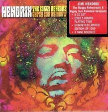 JIMI HENDRIX - The Baggy rehearsals & Gypsy Sun Rainbow sessions (5 cd box set )