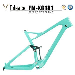 T800 Carbon Fiber Full Suspension Mountain Bike Frame 12*148mm Boost MTB Frames