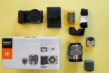 Sony Alpha NEX-5N 16.1MP DSLR Black with 18-55mm OSS Lens and OLED Tru-Finder