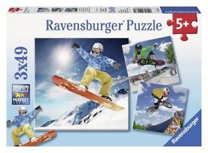 RAV09287 - 3 Puzzles Sport Action Figure - 49 Parts