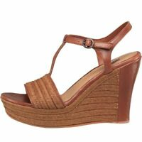 UGG Womens Fitchie Wedge Sandals, Rust (Tan), UK 7.5 (Fit UK 7) EU 40, BNIB