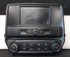 """16 17 SIERRA 1500 Radio I05 MyLink w/ 7"""" LCD 42430301 & Climate Control 84164473"""