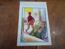 Risque Vintage Postcard Retro GIRL WANTED ADVERT SHOP ASSISTANT Humour §A73
