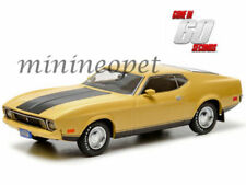 GREENLIGHT 86412 GONE IN 60 SECONDS 1973 FORD MUSTANG MACH 1 ELEANOR 1/43 YELLOW