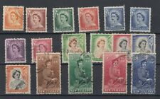 New Zealand QEII 1953 Set To 10/- VFU JK203