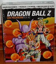 DRAGON BALL Z LAS PELÍCULAS BOX 2 EDICION COLECCIONISTA 4 BLU-RAY+LIBRO NUEVO R2
