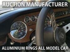 Lancia Fulvia 1963-1976 Dashboard Gauge Dash Chrome Dial Aluminium Rings x5