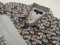 "TED BAKER Mens Shirt 🌍 Size 2 (CHEST 36"") 🌎 RRP £65-129+📮FLORAL LIBERTY STYLE"