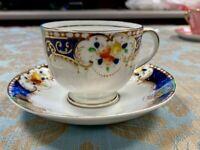 Salisbury Crown Fine Bone China Vintage Teacup and Saucer