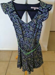 Review Berry Picking Playsuit Size 6 Excellent Condition