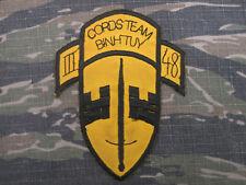 Theater Hand Made Vietnam Special Forces MACV SOG CORDS TEAM CIA Advisor Patch
