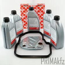 FEBI 08900 Hydraulikfilter Automatikgetriebe FEBI ATF Öl 08971 5L Mercedes