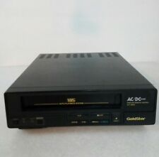 GOLDSTAR VIDEO CASSETTE PLAYER VCP-4100M FRONT LOADING COMPACT VHS PLAYER-1987