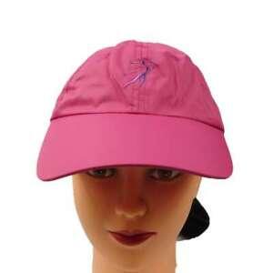 Ginnie Cap Microfiber Ponytail Hole Cap Golf Embroidery