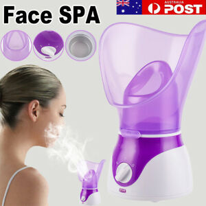For Face SPA Nymph Spa Home Office Facial Steamer Sauna Pores Deep Clean Devices
