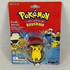 Pokemon Clip N llevar Poke Ball con Pikachu conjunto de juguete figura de acción