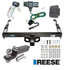 """Reese Trailer Tow Hitch For 88-00 Chevy C/K Series Deluxe Wiring 2"""" Ball & Lock"""