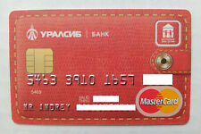 URALSIB BANK MASTERCARD RUSSIA CREDIT CARD USED EXPIRED FOR COLLECTION
