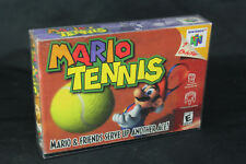 Mario Tennis for Nintendo 64 N64 - New, Factory Sealed w/Box Protector!
