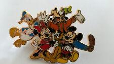 Mickey Family Fab 5 Donald Goofy Pluto Minnie Disney Paris Dlrp Dlp 2006 Pin