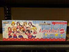 Weiss Schwarz Meister Set. Love Live! Vol.2. New Sealed.