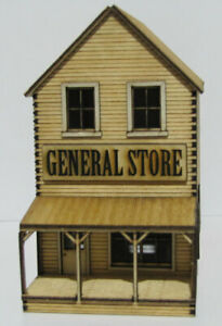 """Trackside Models - HO Scale - Laser Cut """"General Store"""" - SM1062"""