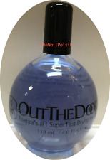 INM Out The Door Super Fast Drying Top Coat 4 ounces = 118ml Refill no brush