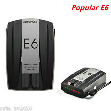 E6 360° Whistler High Performance 7bands Radar Laser Speed Detector Alert GPS