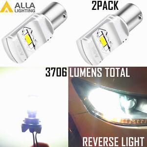 Alla 56-LED 1156 Backup Reverse Light Bulb|Blinker|Center High Stop Bright White