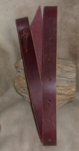 "New Thick Latigo Leather Tie Strap for Girth, Cinch, Western Saddle 1 3/"" x 71""."