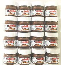 Cute Mini Nutella Jars 16 Pk, 25g Each. BB 11/04/2019 Long Date