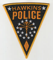 Stranger Things Patch Hawkins Police 5 inches tall cosplay prop costume