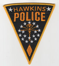 Stranger Things Patch Hawkins Police cosplay prop costume