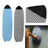 """6"""" 6.6"""" 7"""" Light Surfboard Sock Cover Surf Board Protective Bag Stretch Case"""