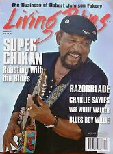 LIVING BLUES Magazine #241 (2016) SUPER CHIKAN Charlie Sayles WEE WILLIE WALKER